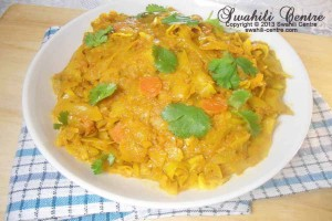 SPICY CABBAGE CURRY/CABBAGE LA KUKAANGA